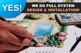 We cover full sprinkler system design & installation in Folsom California